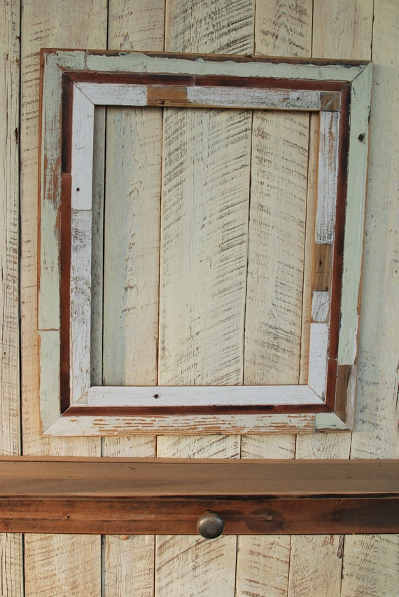 These Old Windows 24x36 reclaimed wood picture frame by oldlikenew