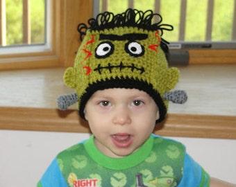 Lil Frank N Bride Beanies - PDF Crochet Pattern Instant Download