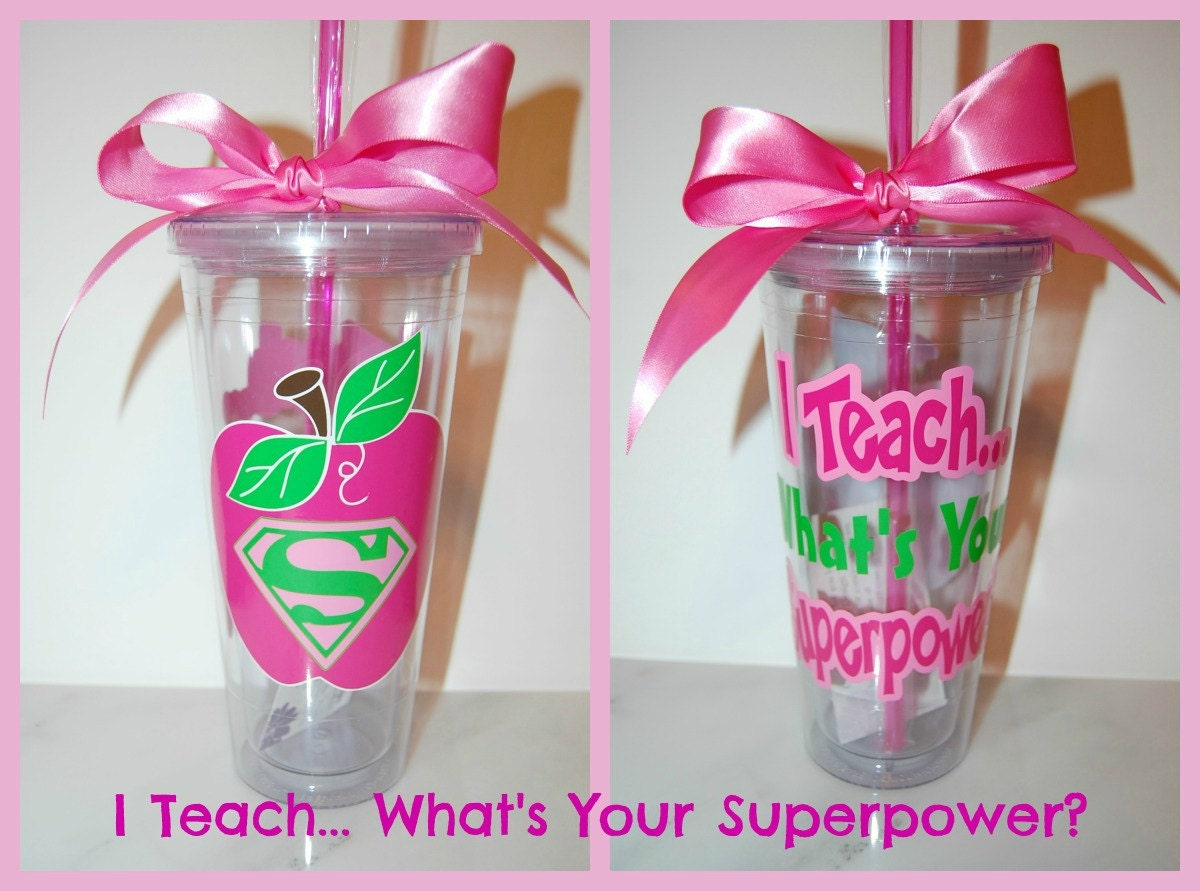 Super Teacher Logo I teach.