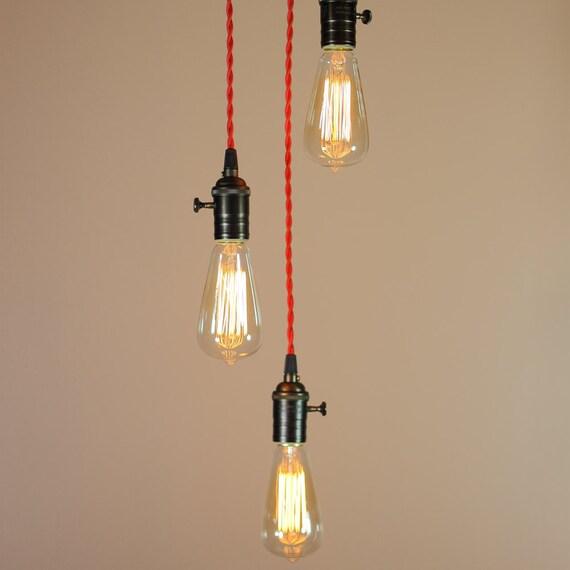 items similar to industrial chandelier lighting. Black Bedroom Furniture Sets. Home Design Ideas