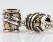 Helping Hands & Open Heart 925 Sterling Silver Charm Bead to fit European Bracelets