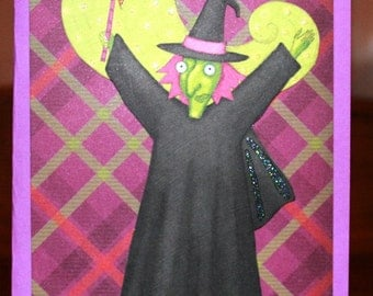 Halloween Witchy Card  20120489