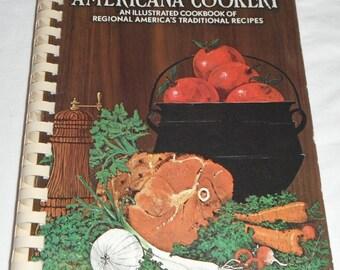 Americana Cookery Favorite Recipes of Home Economics Teahers 1971