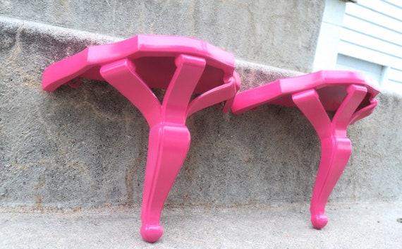 Fabulous Hot Pink Display Shelf Set