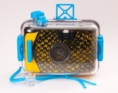 Hand-Painted Underwater 35mm Camera