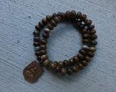 Unisex Buddha Opalite Bracelet