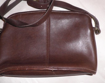 COACH Dark Brown Anderson 9976 Purse, Vintage Leather Handbag, Vintage Coach Shoulder Bag, Vintage Handbag