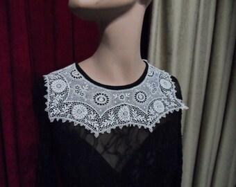 Collar, Downton Abbey, Edwardian lace, Antique.