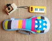 Soprano ukulele case - Pastel Pop - Colorful Stripe - Ukulele Bag (Soprano Size) - made to order