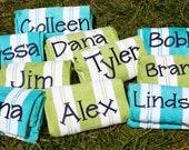 Personalized Beach Towels - Jen