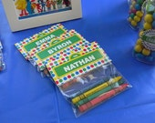 Sesame Street Favor Tags Customized - Digital File