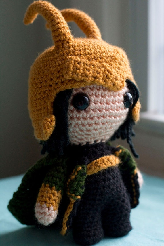 Reserved Listing for R0bertdowneyjr - Loki (Avengers) Amigurumi Plush Doll