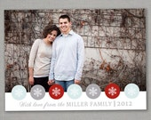 Holiday Photo Card--Let it Snow