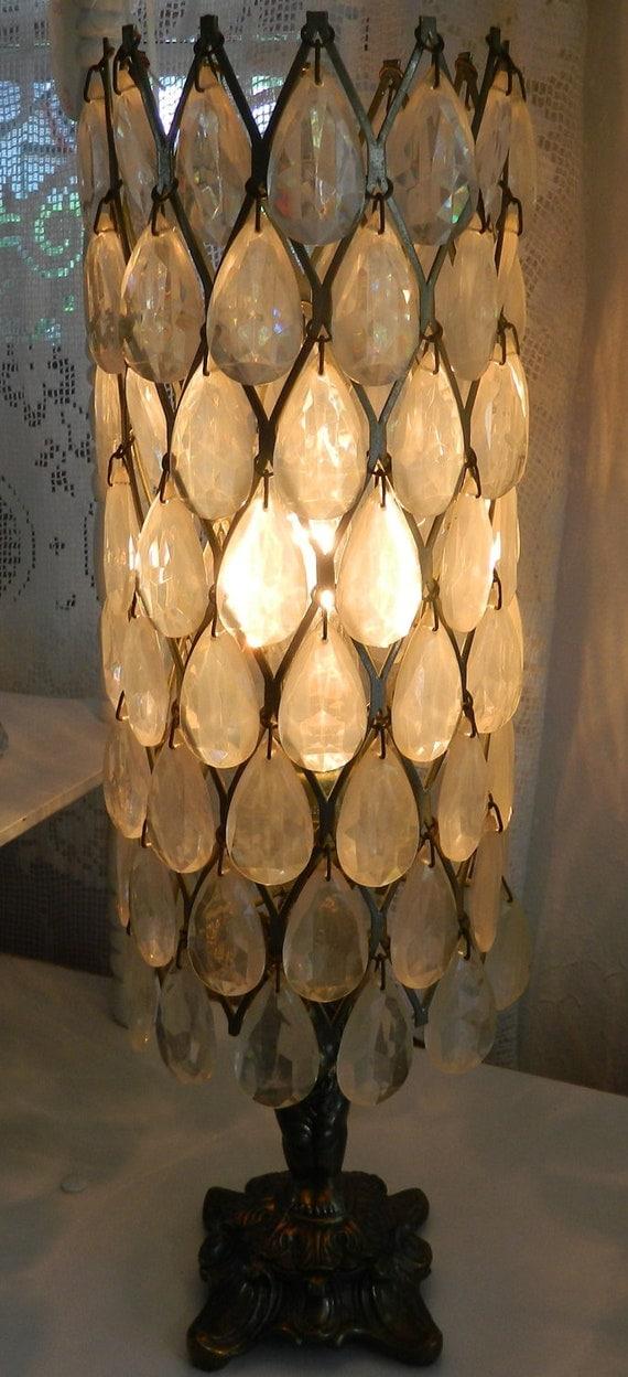 Italian Decorative Cherub Lamp