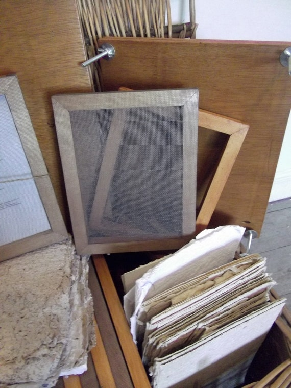 Bespoke Excellence - handmade A5 papermaking starter kit to last you forever