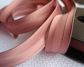 Satin Bias Tape Binding Antique Pink