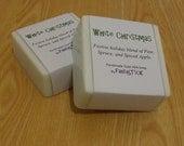 White Christmas Goat's Milk Soap