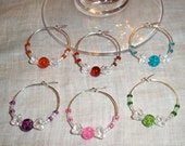 Candy - Wine Glass Charms - Set of 6