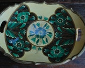 Vintage Mexican Wooden Tray