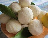 Lemon Soap Balls