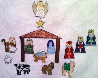 Nativity Flannel Felt Board Set