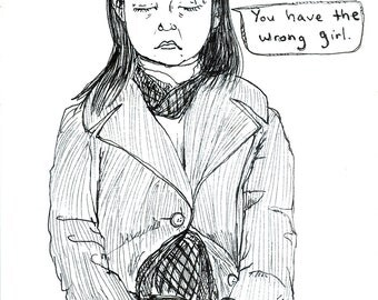 Subway Portrait - You have the wrong girl