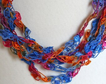 Caribbean - Crocheted Necklace