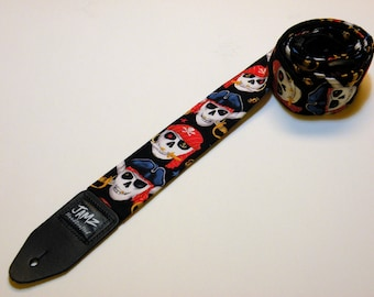 PIRATES Handmade Double Padded Guitar Strap