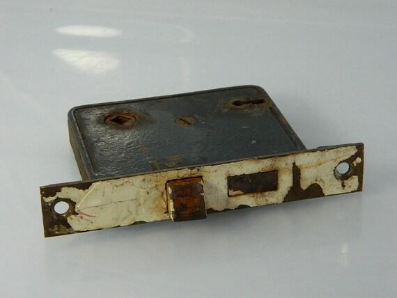1940s Door Lock, Architectutal Salvage