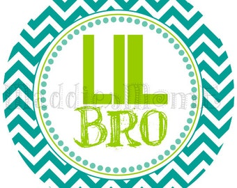 Little Brother Iron on Transfer 'Lil Bro'