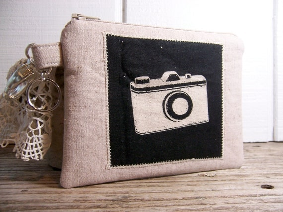 Clip on Case for a smaller camera or cell phone-gadget wallet