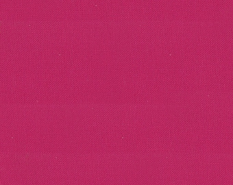 "Pink Solid Fabric - Bella Solids ""Berrylicious"" by Moda - 1/2 Yard"