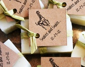 Eco Baby Shower Favor Soaps