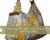 Hobo Bag / Diaper Bag Transition - PDF Tutorial