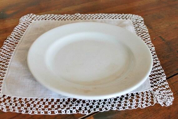 Vintage Ironstone Plate