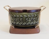 Apple Sauce Pot and Stand