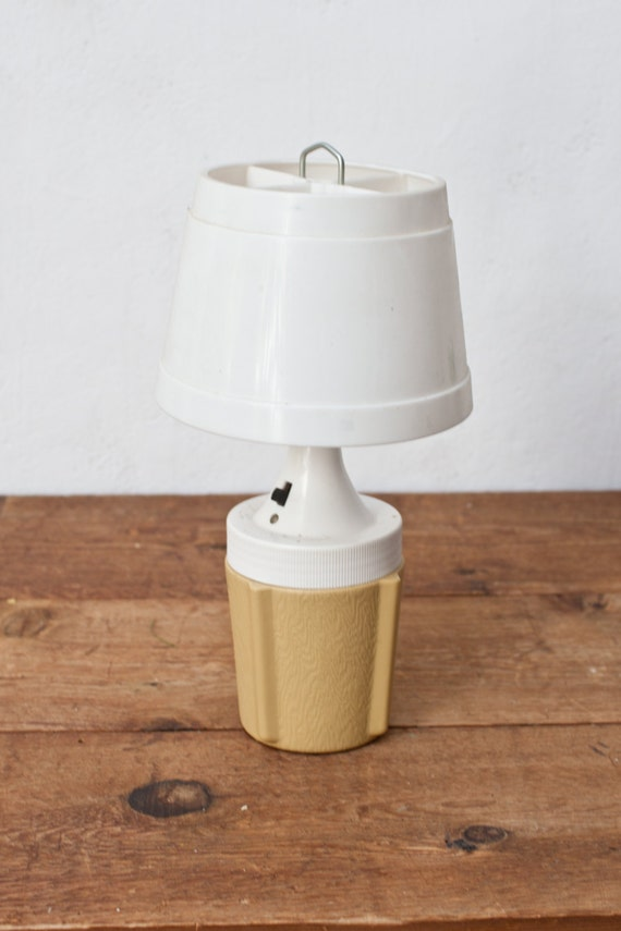 Yellow Camping Lantern with Battery