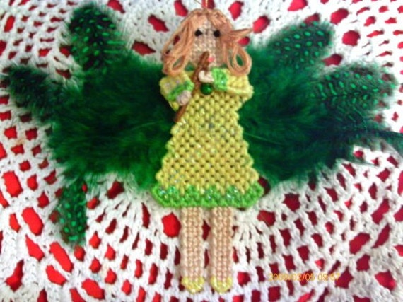 Springtime Flute Playing Fairy ON SALE WAS 12