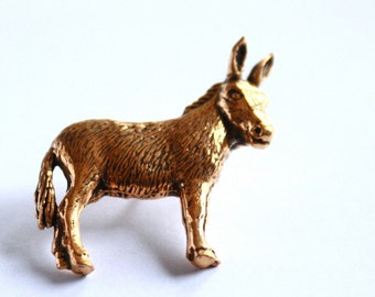 GOLD //// plated Donkey Pin