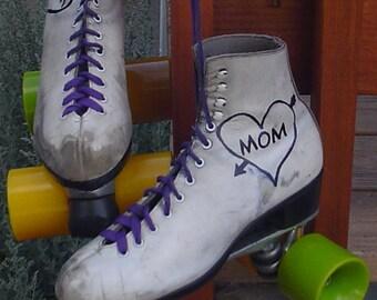 Women Vintage Roller Derby Girls Old School Skates Original Era Wheels Urethane by TO