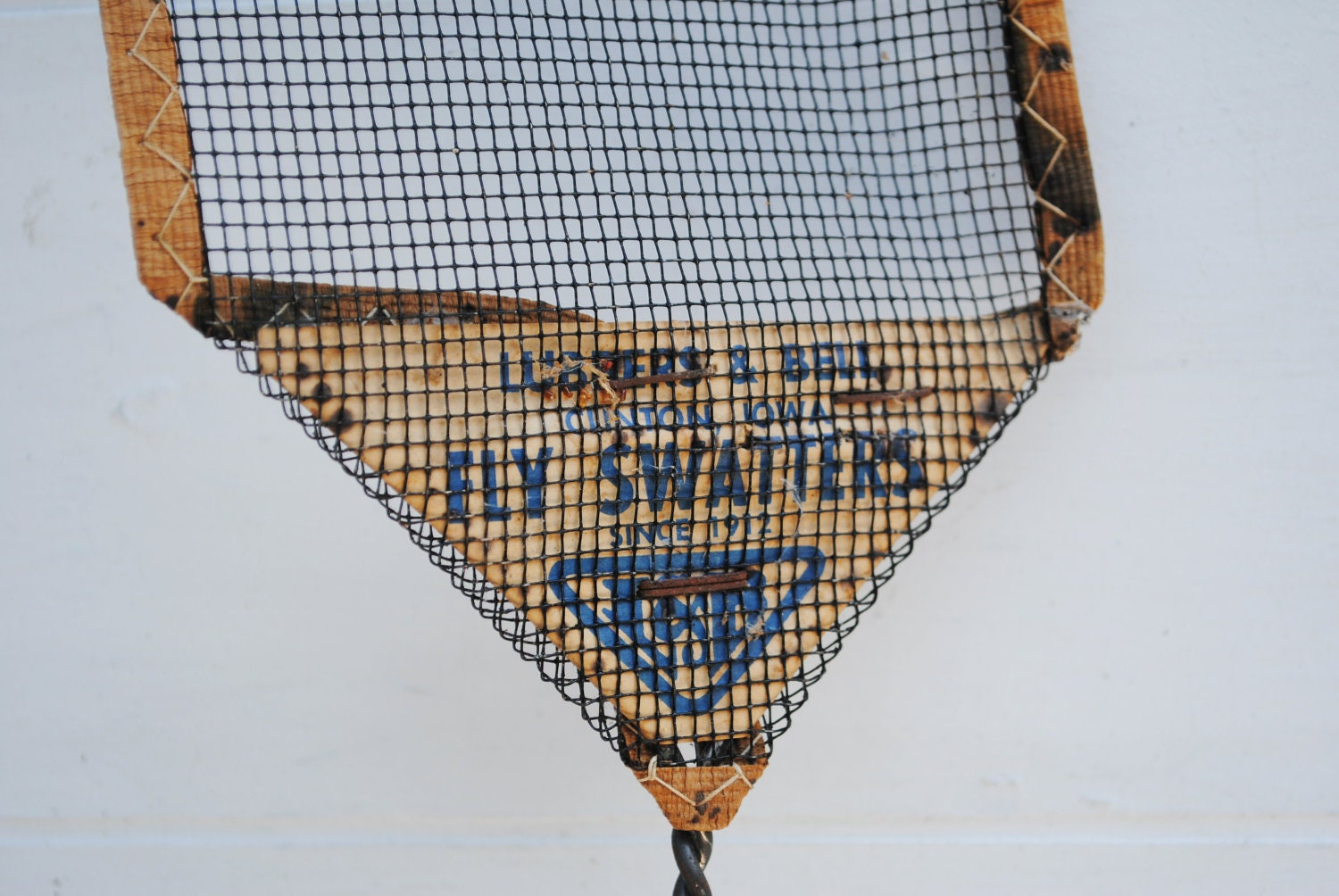 Vintage Fly Swatters By Lubbers Amp Bell
