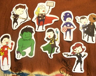 Avenger Sticker set