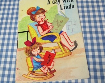 a day with linda, vintage 1970s children's book