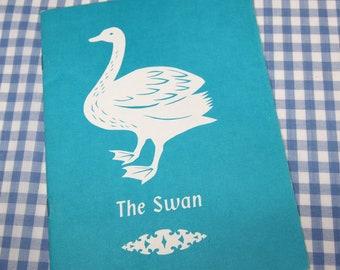 the swan, vintage 1958 children's book