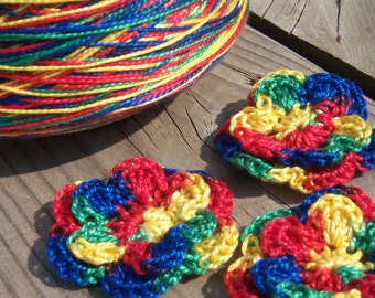 Perle Cotton - Size 5 - Rainbow - Your Choice of Amount
