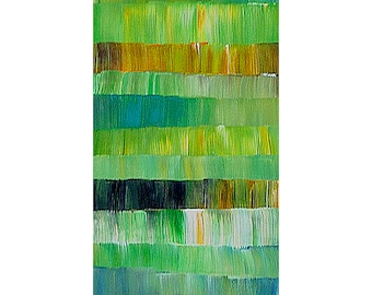 ORIGINAL PAINTING Impasto Acrylic Large Art 24x48 Abstract Art and collectibles By Thomas John