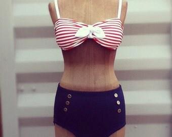 Sailor Bikini Set