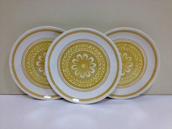 Yellow Plates Casablanca Royal China Cavelier Ironstone