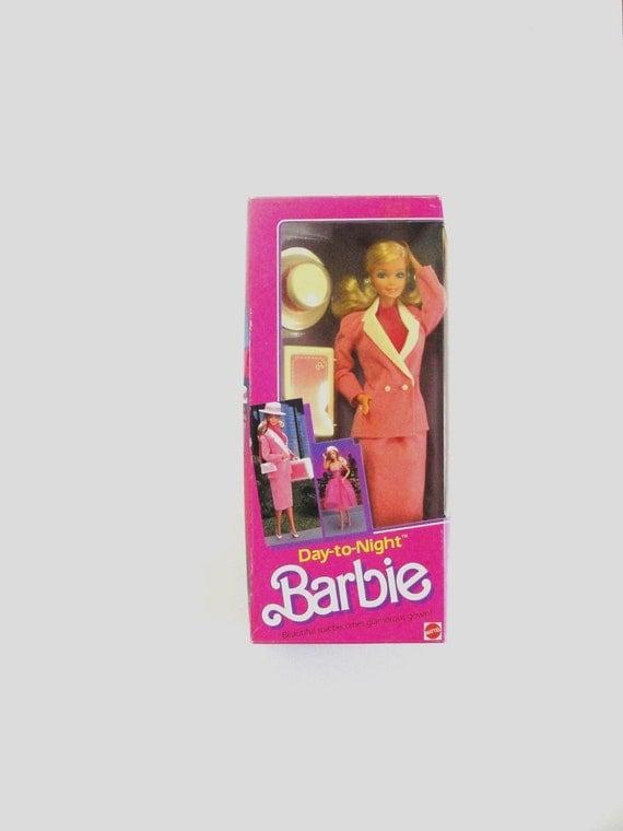 1984  Day to Night Barbie Vintage Mattel  in Original Box