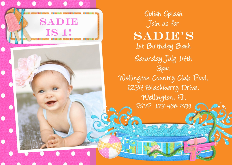 Girls Birthday Party Invitations as good invitations layout